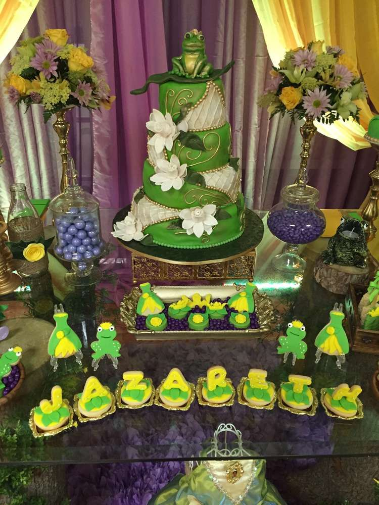stunning Princess And The Frog Birthday Party Decorations Part - 17: Princess and the Frog Birthday Party Ideas | Photo 7 of 27