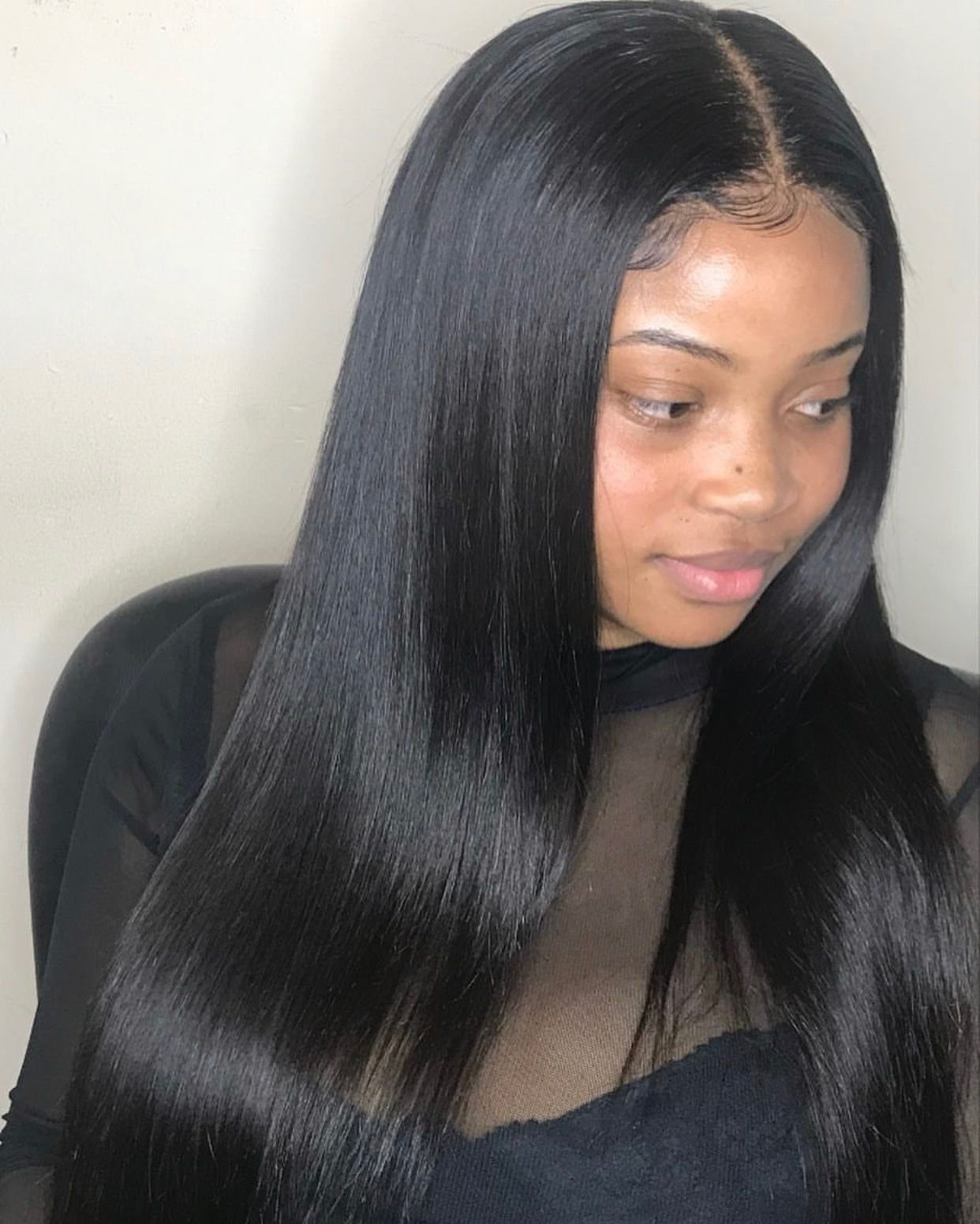 pinterest: @xpiink | hairstyles to try | human hair lace
