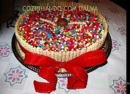 bolo decorado