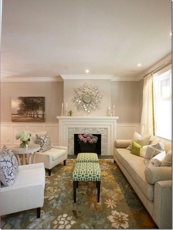 Airy Calm Home Living Room Contemporary Living Room Home