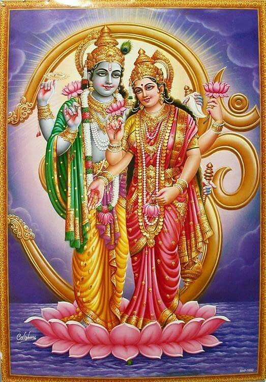 Shri Shri Lakshmi Narayan Lord Vishnu Wallpapers Hindu Gods Vishnu