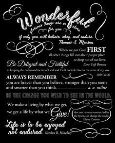Free printable to give to the young women who are graduating from Laurels.  (Could also work well for a graduation gift.)