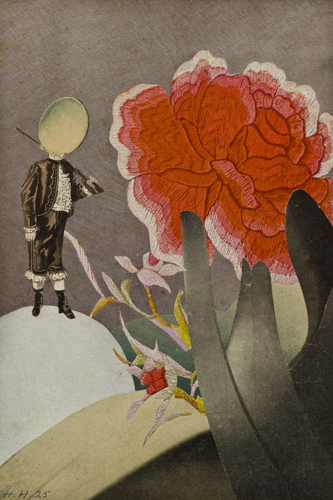 Hannah Höch. Watched. 1925.