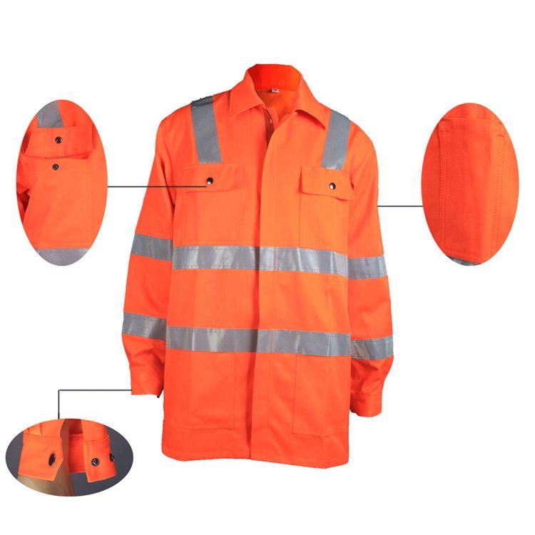 class 2 safety vest with back pocket