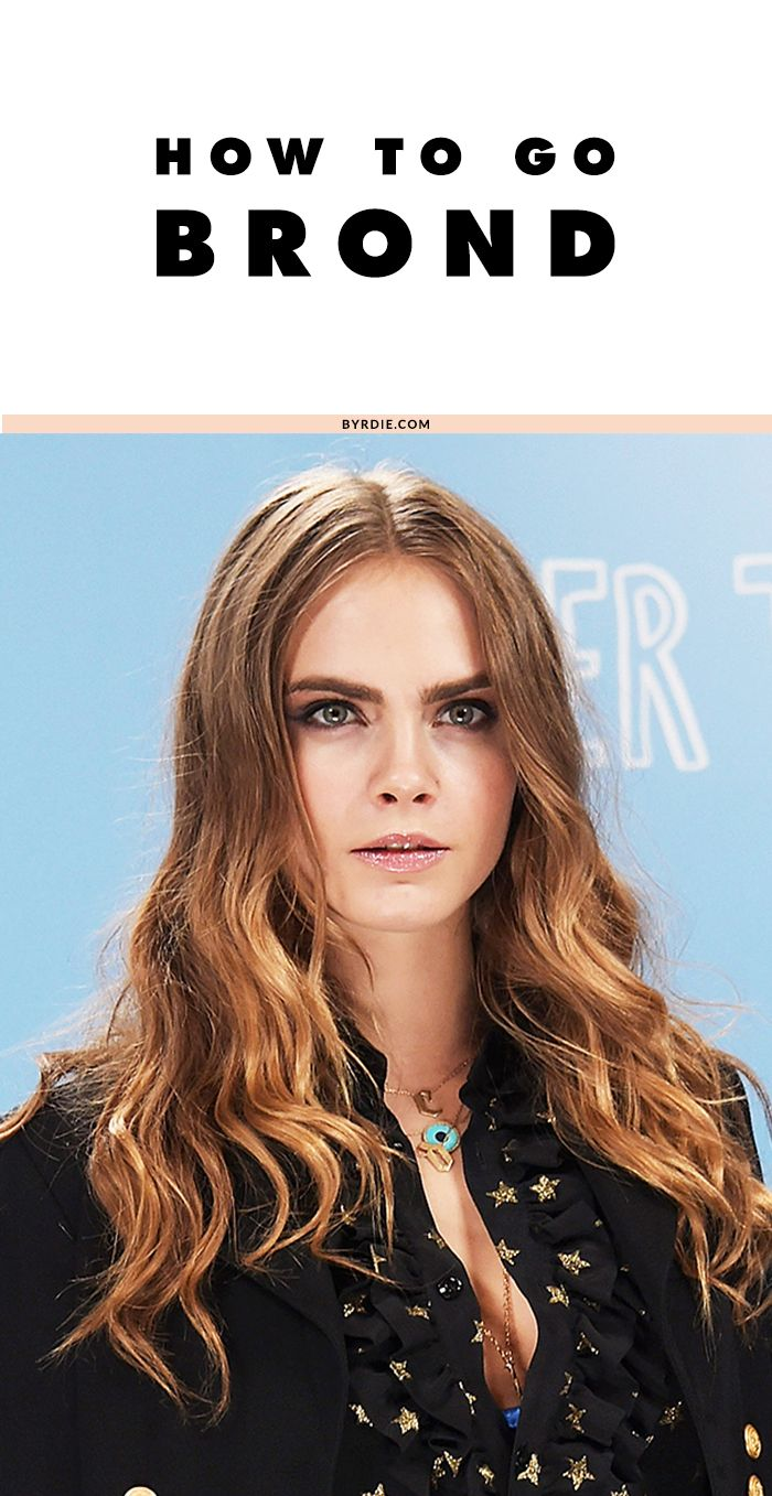Hair Color 101: How to Go Brond | Hair trends, Hair coloring and ...