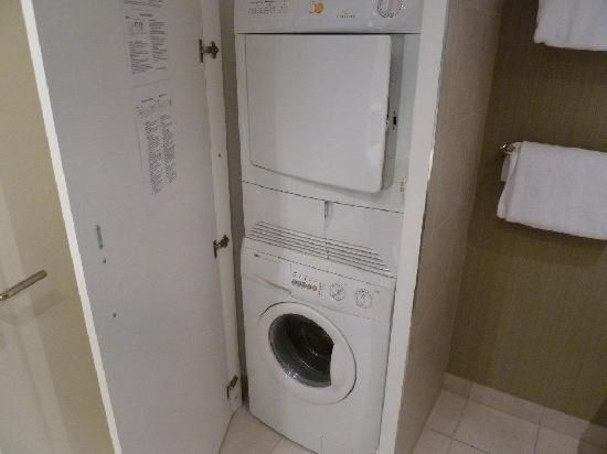 tumble dryer on top of washing machine - Google Search | interiors ...