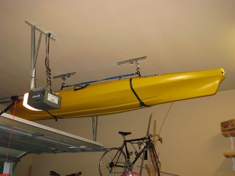 Diy kayak hoist kayak diy pinterest kayaking gear and kayak diy kayak hoist solutioingenieria Gallery