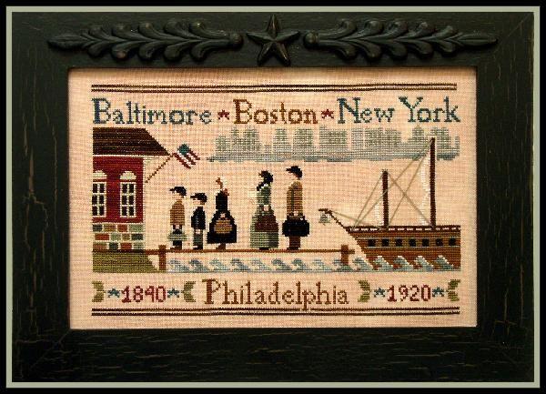 Coming to America | Cross Stitch | Pinterest