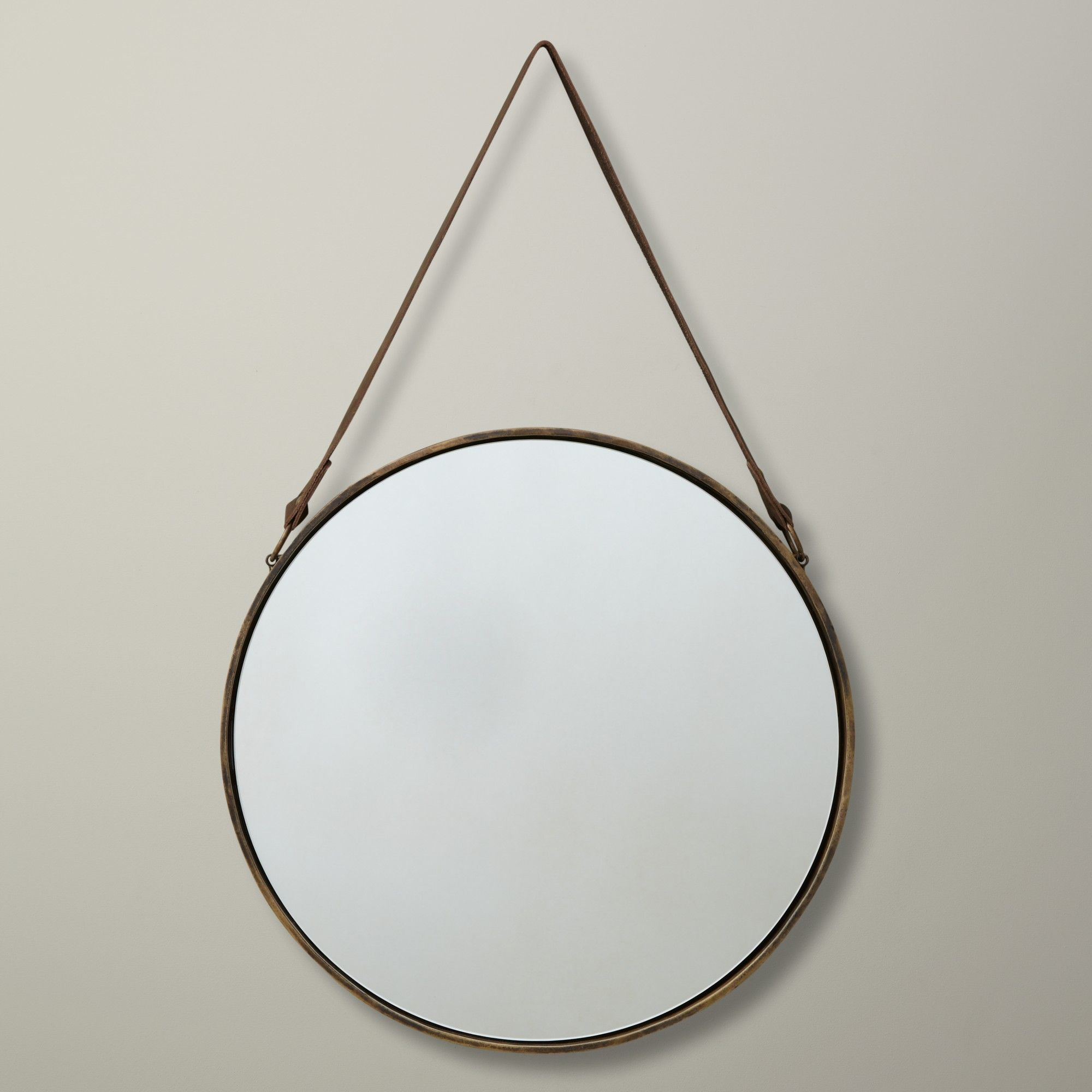 john lewis round hanging mirror matt brass. Black Bedroom Furniture Sets. Home Design Ideas