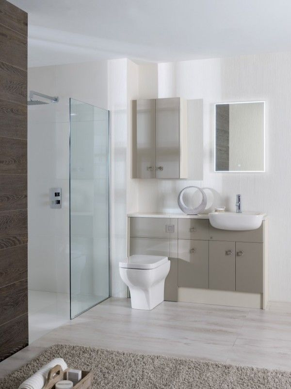 Calypso Fiited Brecon Basalt Mist Bathroom Design Modern