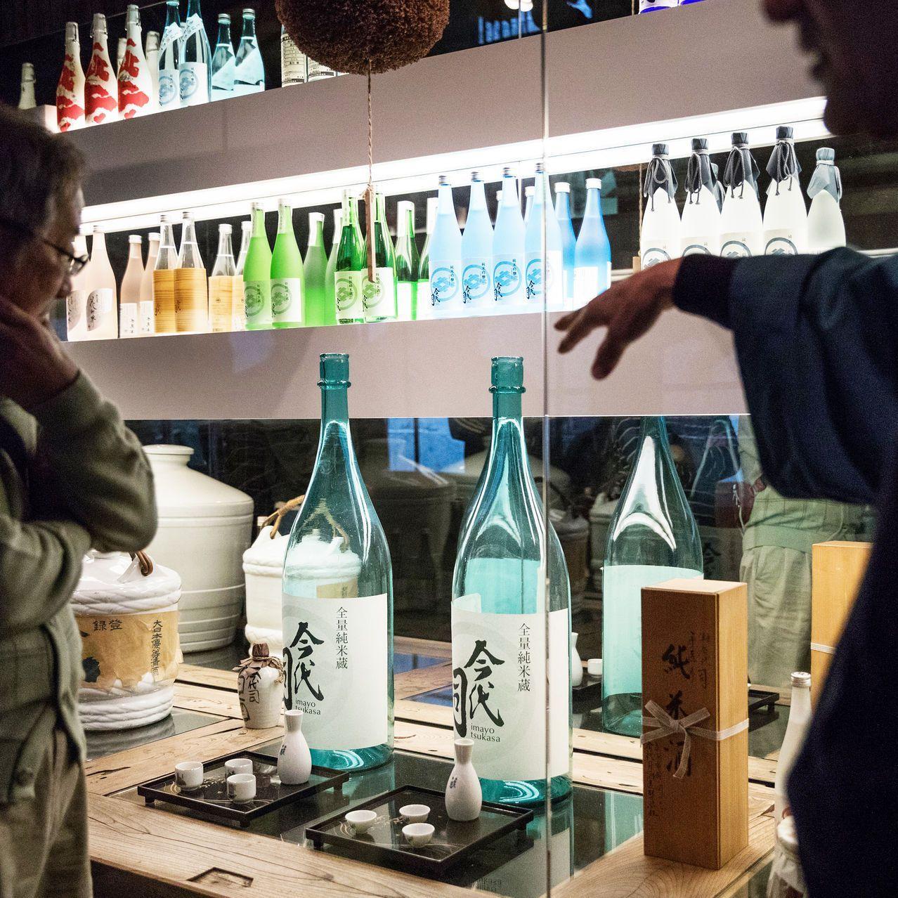 A sake tour of the Imayo Tsukasa