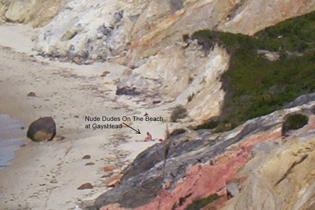 Nude Dudes On The Beach In Gaysheadaquinnah  Marthas -7158