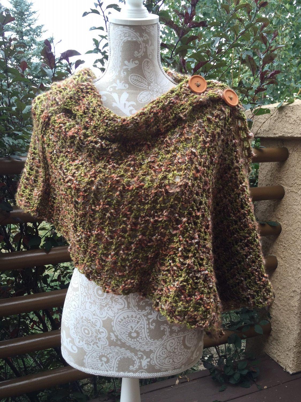 Luxury Mobius Wrap Knitting Pattern Illustration - Blanket Knitting ...