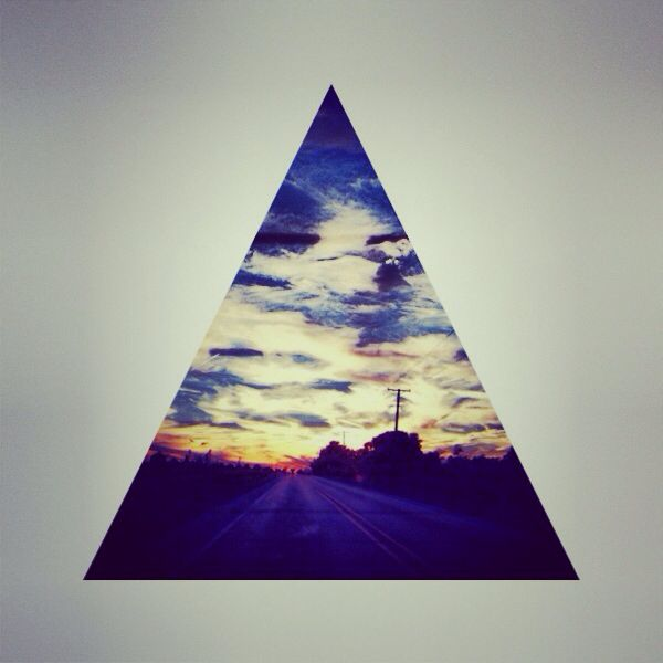hipster triangle own pictures