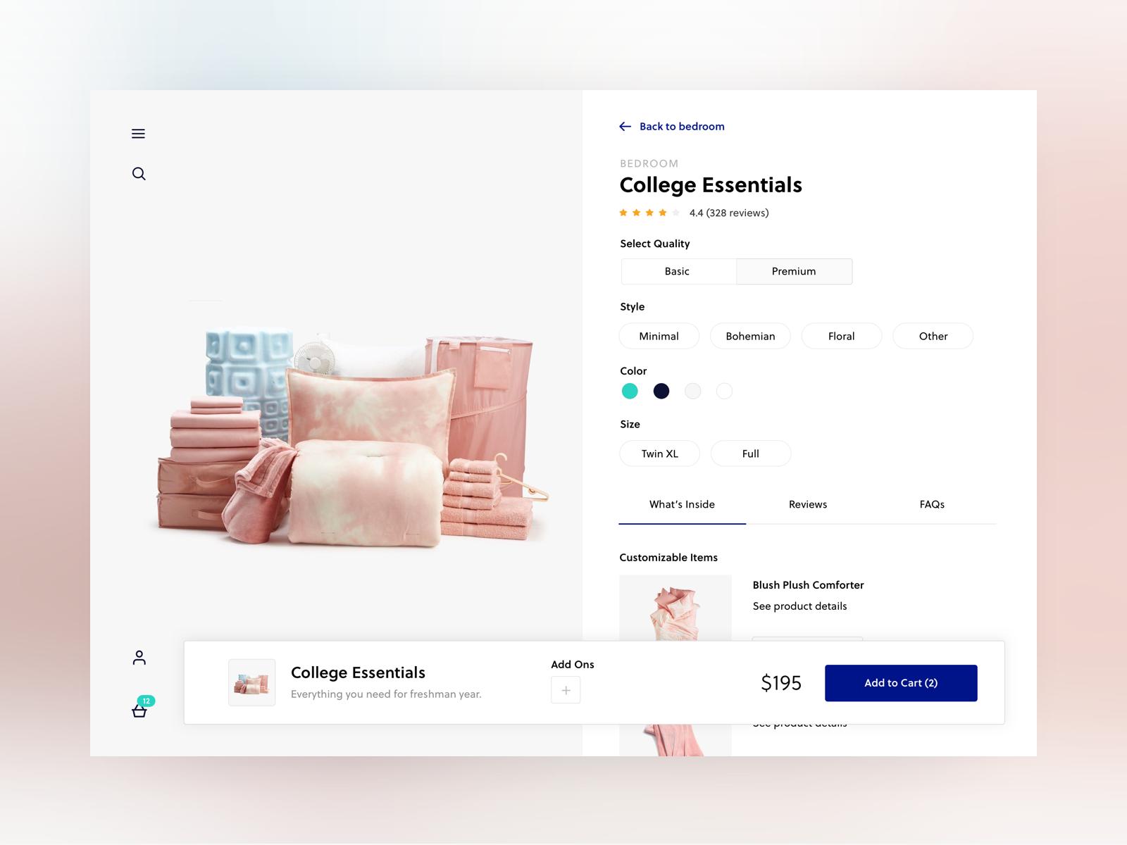 Product Detail Page Exploration Portfolio Web Design Web Design Tips Ecommerce Web Design
