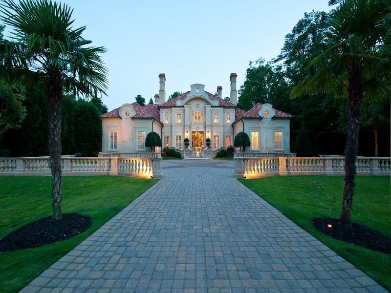 Extraordinary property of the day grand buckhead estate for New houses in georgia