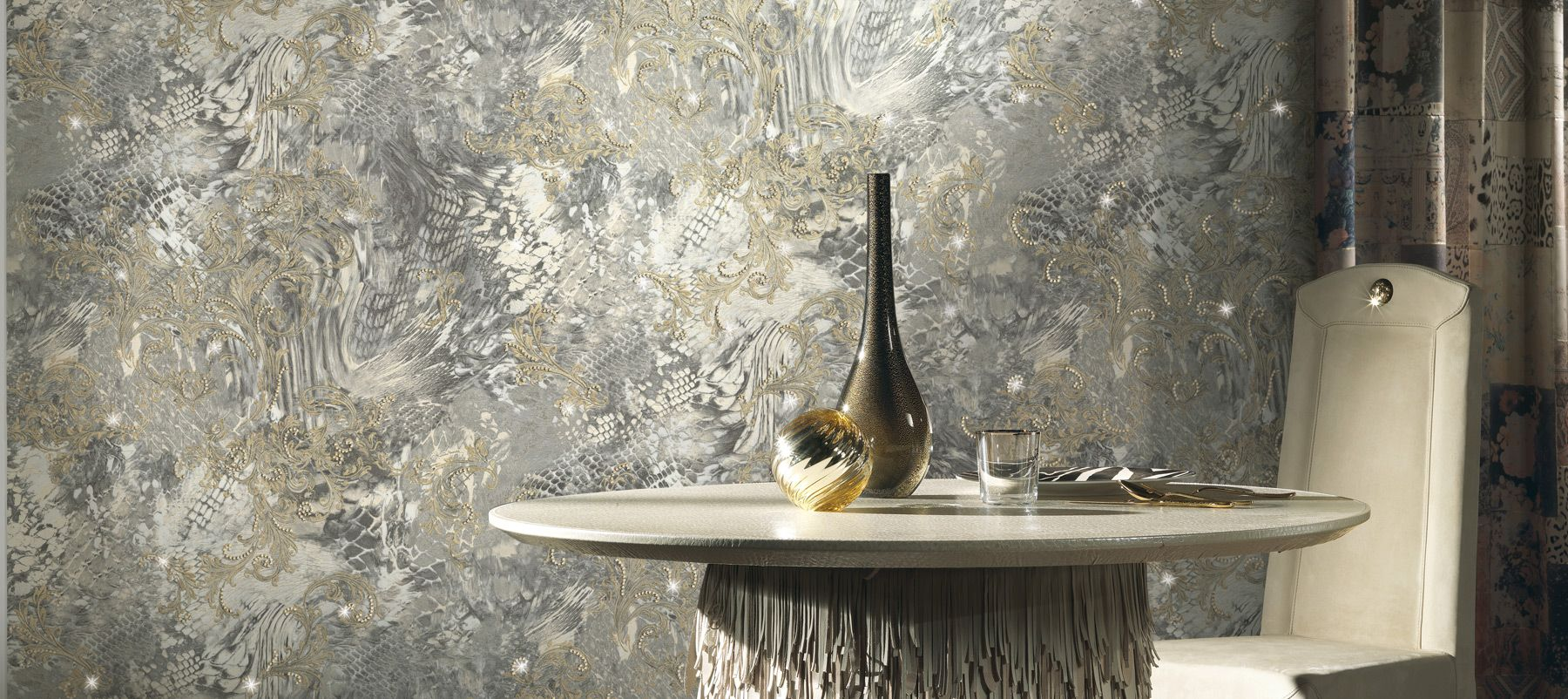 1000+ images about Wallpaper Feature Panels - Roberto Cavalli on ...