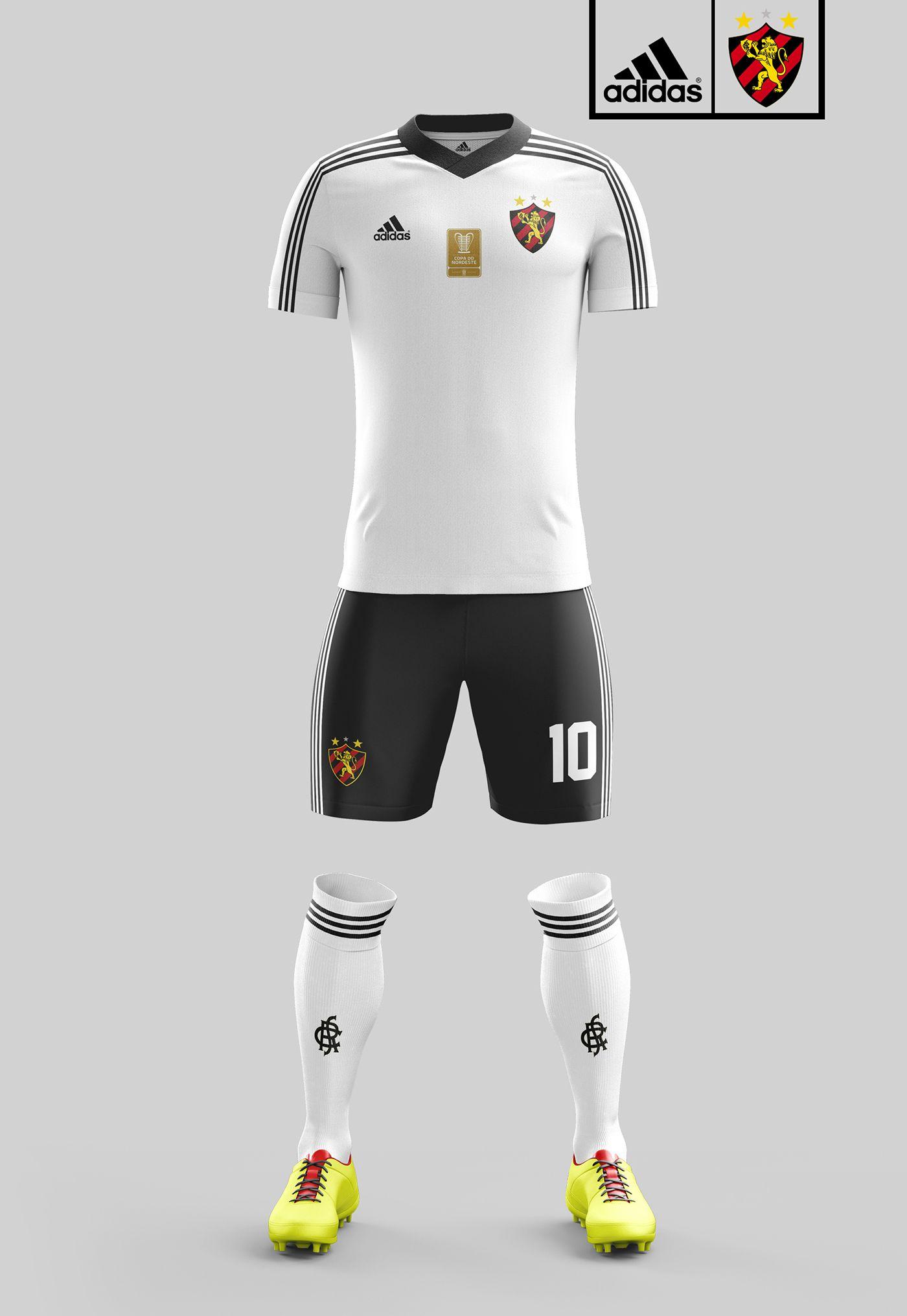 Uniformes Sport Recife 2017 on Behance Camisas de