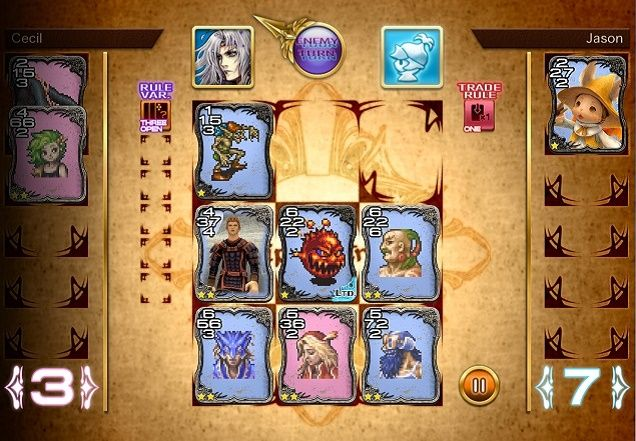 You Can Now Play Triple Triad On Your Phone Card Games Triad Card Design