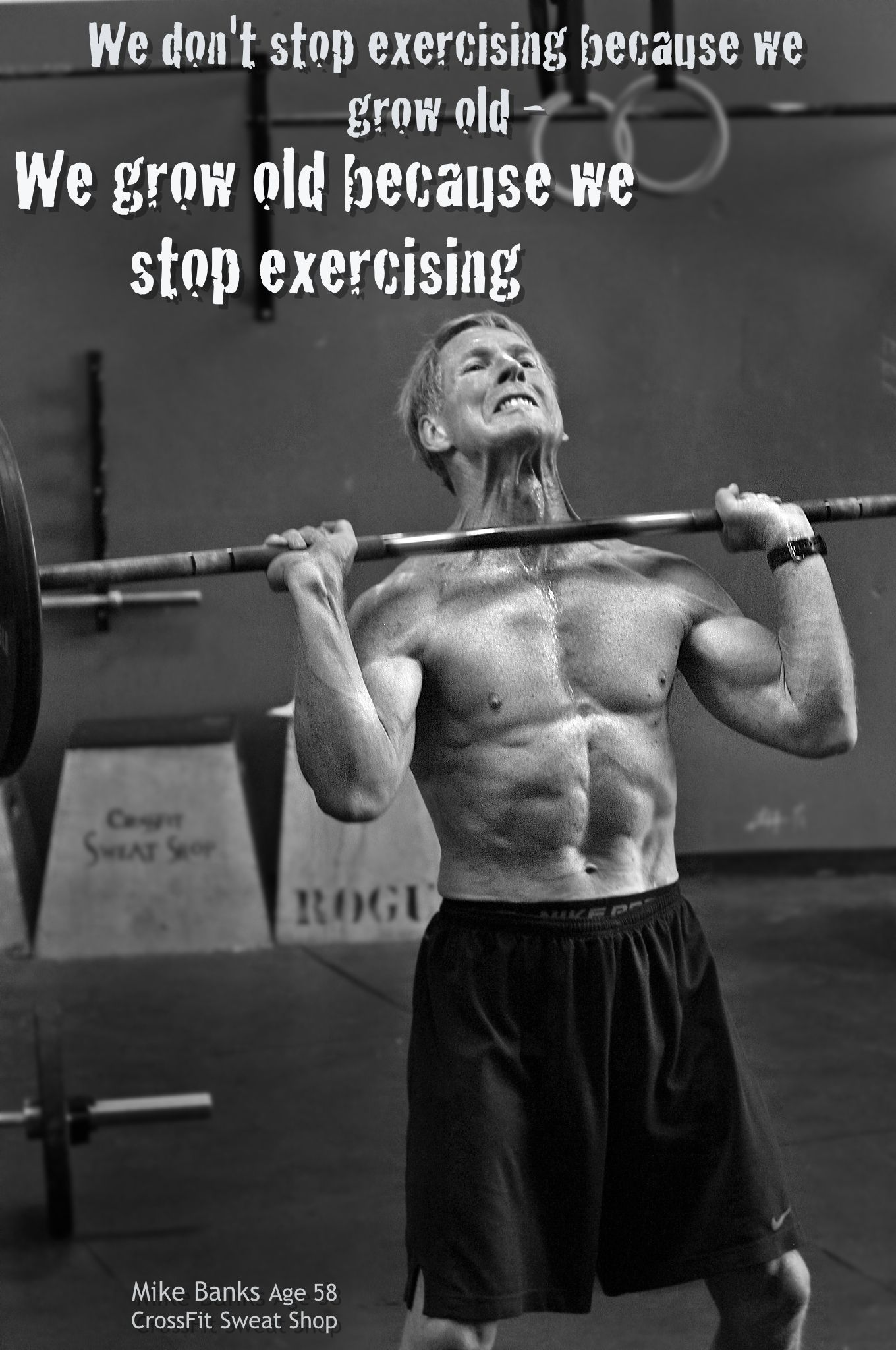 Crossfit Quotes Crossfit Fitness Fit Workout  Get Up And Run  Pinterest