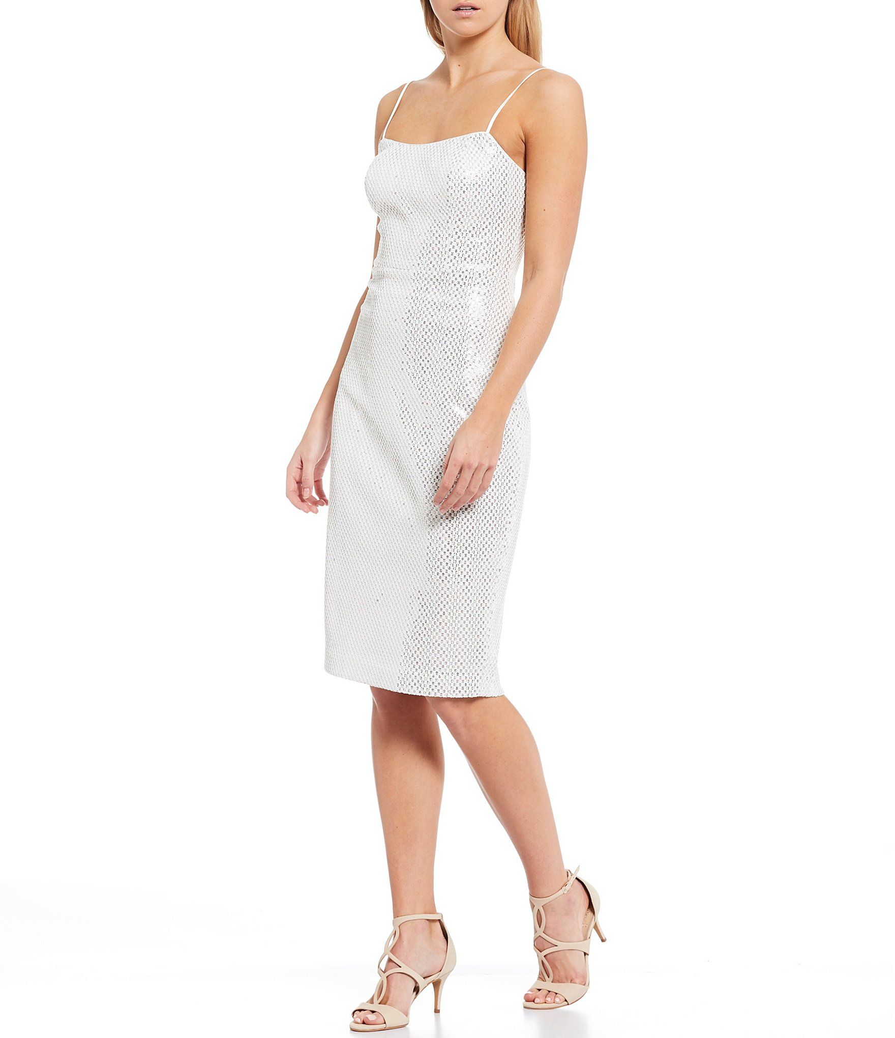 Shop For Vince Camuto Sleeveless Textured Sequin Sheath Dress At Dillard S Visit Dillard S T Metallic Cocktail Dresses Casual Work Dresses Sequin Sheath Dress [ 2040 x 1760 Pixel ]
