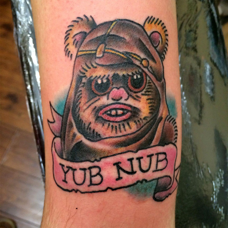 60 Ewok Tattoos For Men – Star Wars Ink Ideas