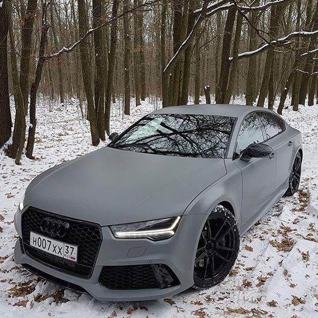 Good Morning Grey RS7 FTW Good Morning Grey RS7 FTW | owner @maksim_dobychin | - -