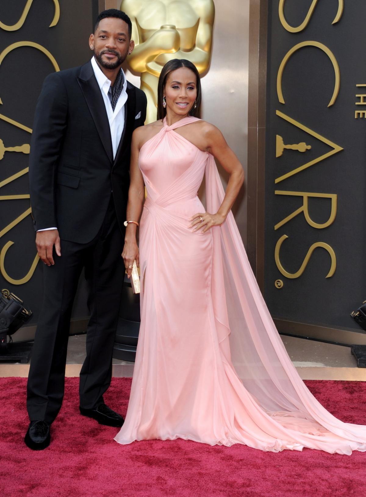 Will Smith and Jada Pinkett Smith - Photos - Academy Awards red ...