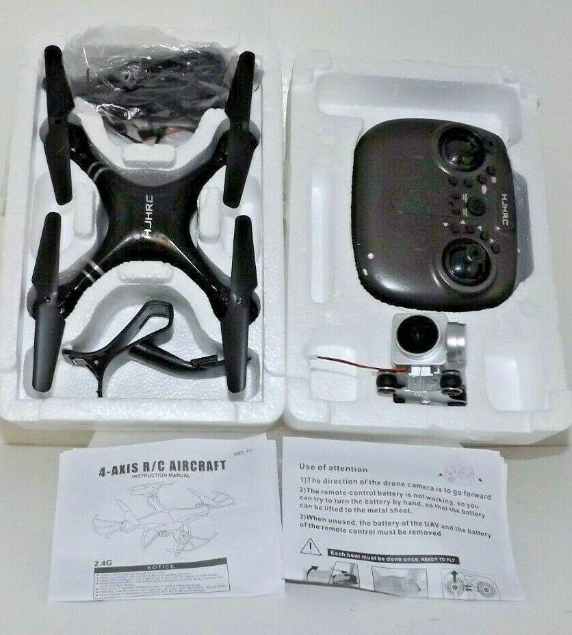 HJHRC 2 4G 4-Axis R/C Acrobatic Quadcopter w/720p Cam - NIB