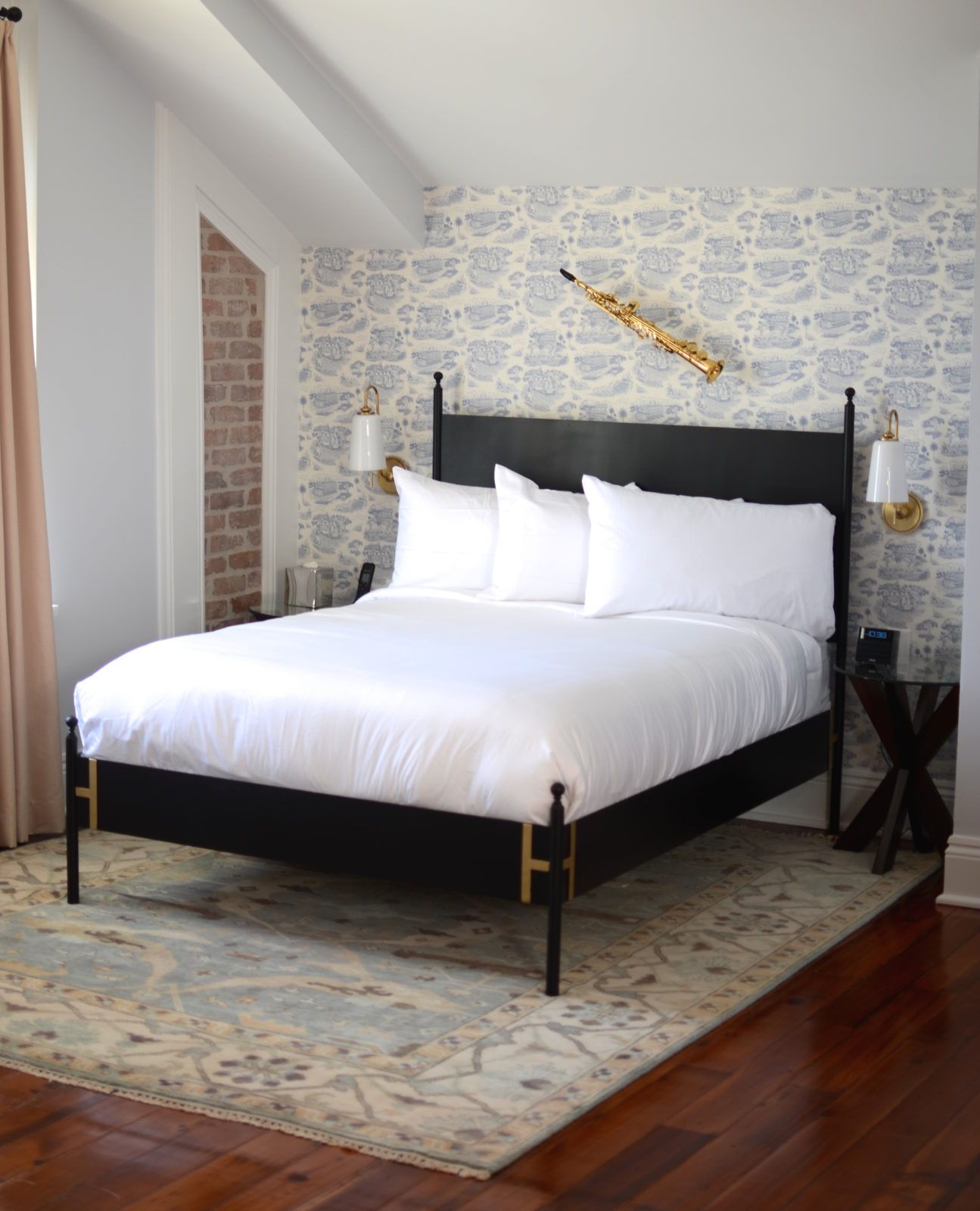 Best The Josephine Bed Black Metal Bed Frame Bed Frame 400 x 300