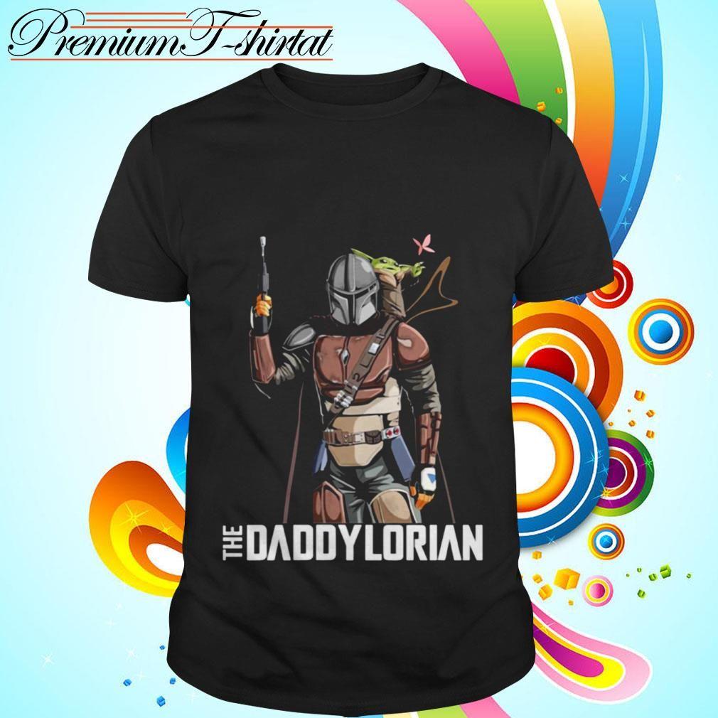 The Daddylorian Daddy Baby Yoda Shirt Hoodie Sweater Tank Top In 2020 Daddy Baby Yoda Shirt Yoda