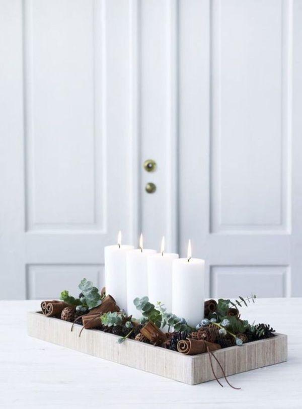 23 Die kultigsten skandinavischen Weihnachtsdekorationen - Diy ideen Wohnen #christmasdecorations