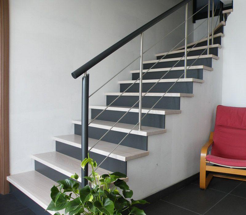 Idée habillage escaliers | deco | Pinterest | Habillage escalier ...
