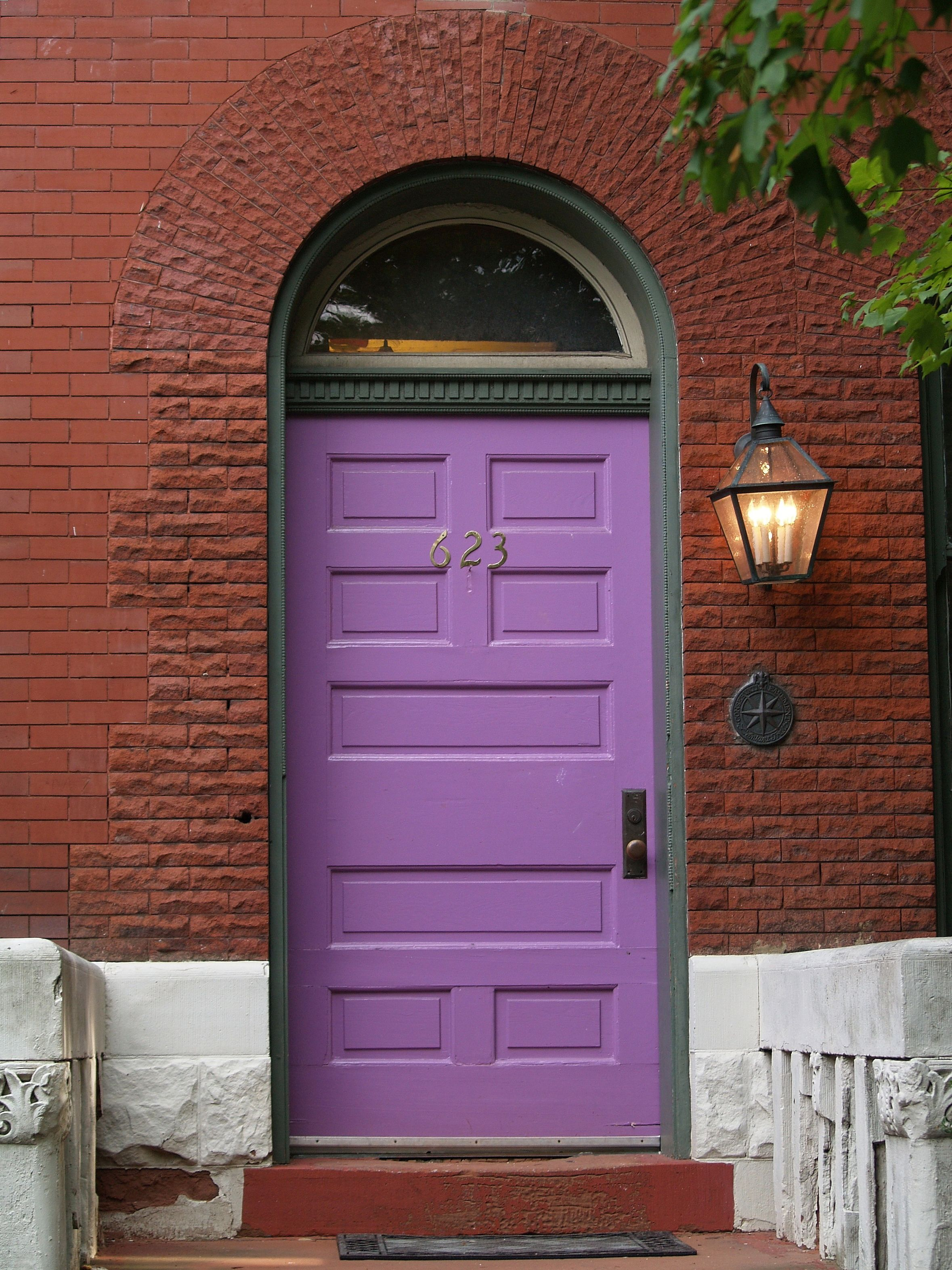 Doors & Purple Door Red Brick Arch LEnfant Trust Easement 623: Capitol ... pezcame.com