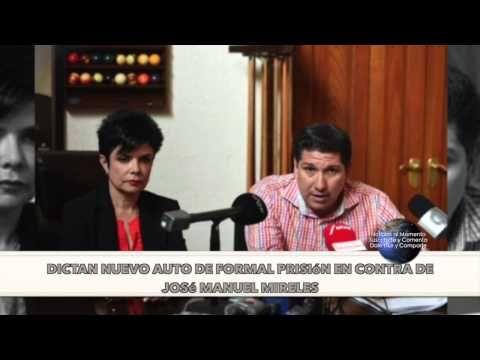 Dictan nuevo auto de formal prisión en contra de José Manuel Mireles