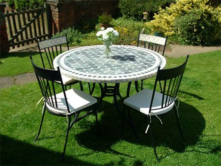 New Mosaic Furniture   Tumble Table And Chair Sets | The Garden Furniture  Centre Blog