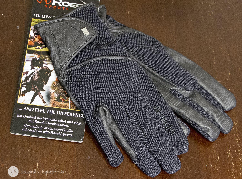 Roeckl guante-madison en negro