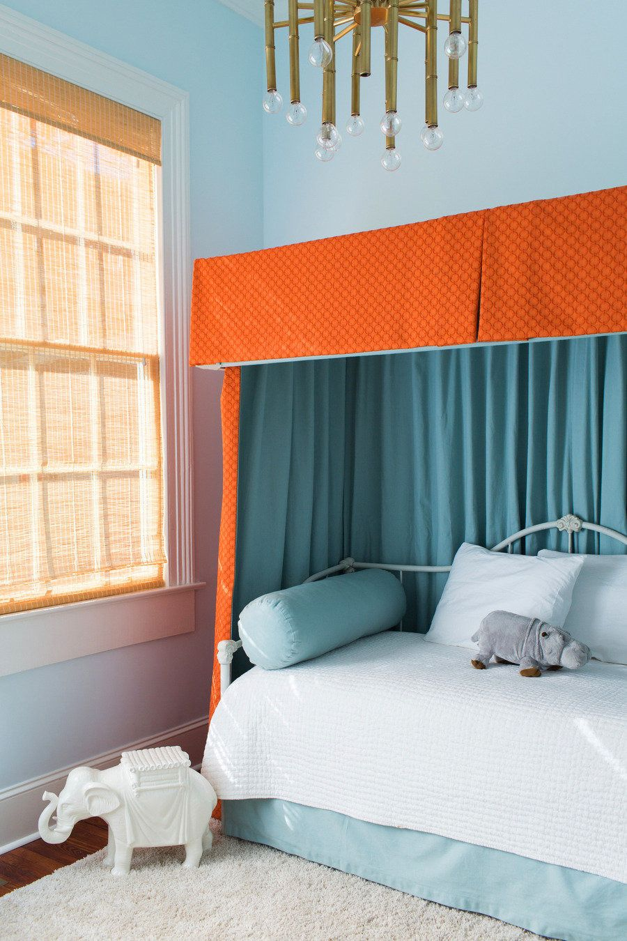 #girls-bedroom  Photography: Corbin Gurkin - corbingurkin.com/ Interior Design: Tara Guerard Interiors - taraguerard.com/interiors/  Read More: http://www.stylemepretty.com/living/2013/07/01/tara-guerard-interiors/