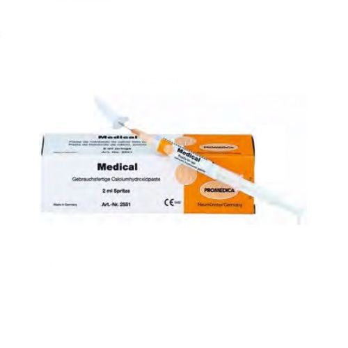 Promedica Medical Syringe 2ml Non Setting Calcium Hydroxide
