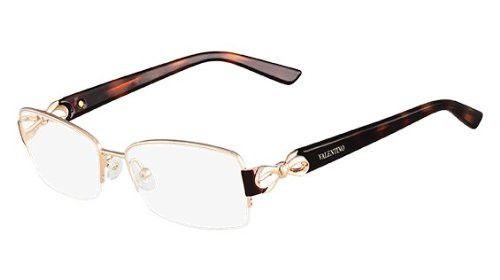 aa353c22ba VALENTINO Eyeglasses V2106 780 Rose Gold 53MM