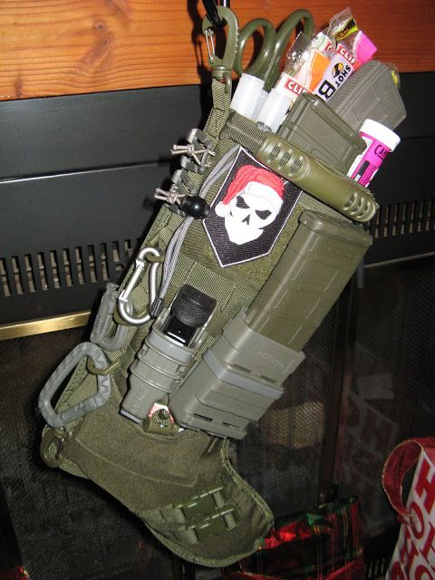 Tactical Christmas Stocking.This Stocking Would Make My Hubby Feel Like A Kiddo For