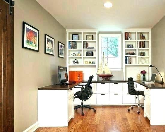 Bureau d angle pour deux l corner desk for two future place in
