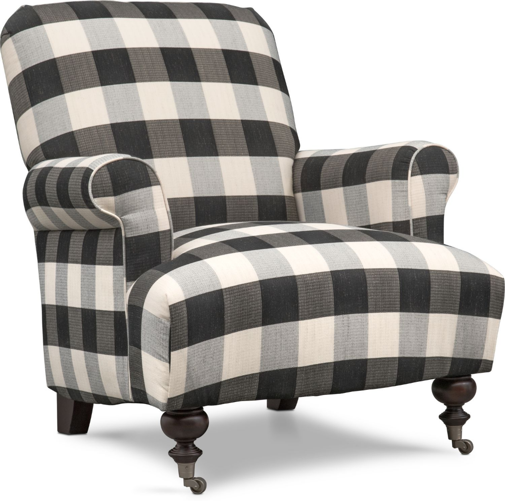 Best Rhys Accent Chair Black And White In 2020 Furniture 400 x 300