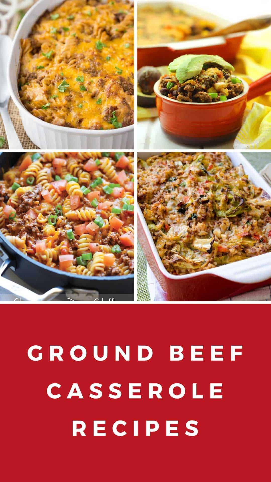 22 Easy Ground Beef Casserole Recipes For Budget Friendly Midweek Meals Ground Beef Casserole Recipes Beef Casserole Recipes Ground Beef Casserole