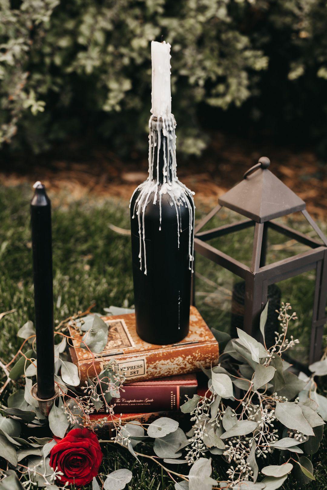 A Vintage Gothic Halloween Wedding