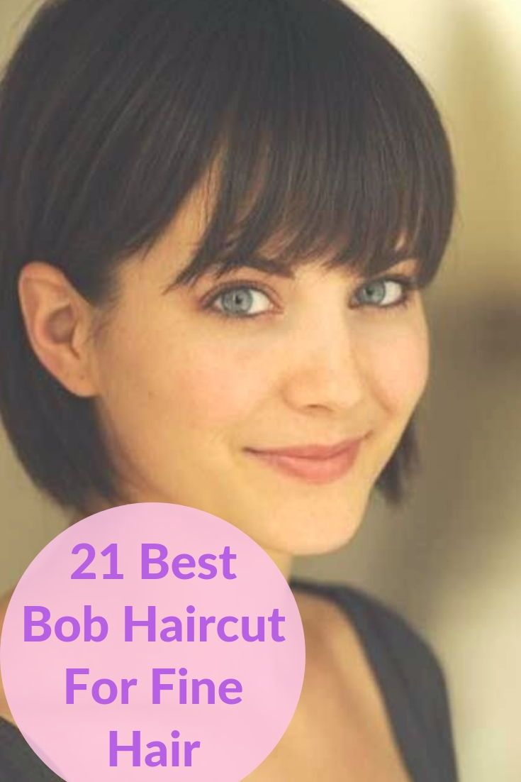 21 Cute And Sexy Bob Hairstyles For Fine Hair To Make Some Head Turn 21 cute and sexy bob hairstyles for fine hair to make some head turn Bob Hairstyles bob hairstyles for thin hair