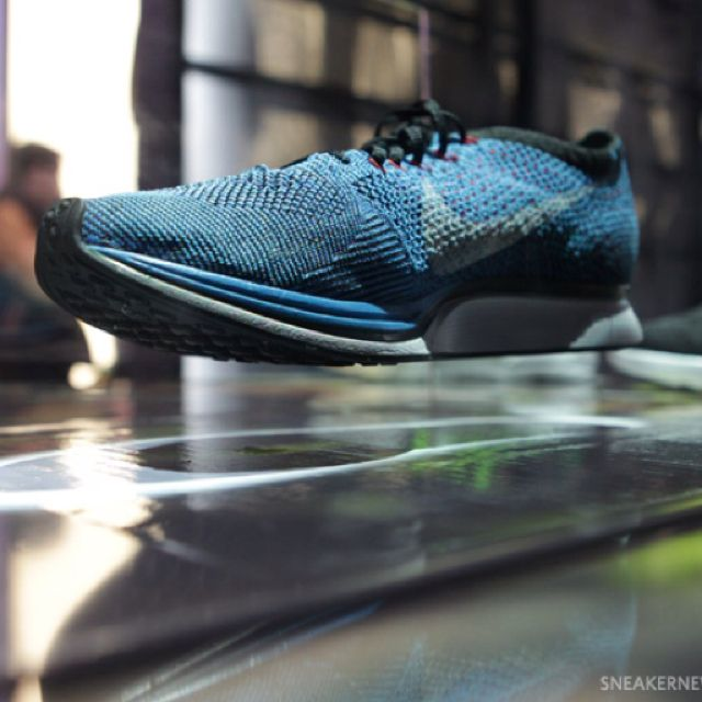 US Track & Field Edition Blue Nike FlyKnit. The most dynamic, accurate fitting running shoe ... EVER.