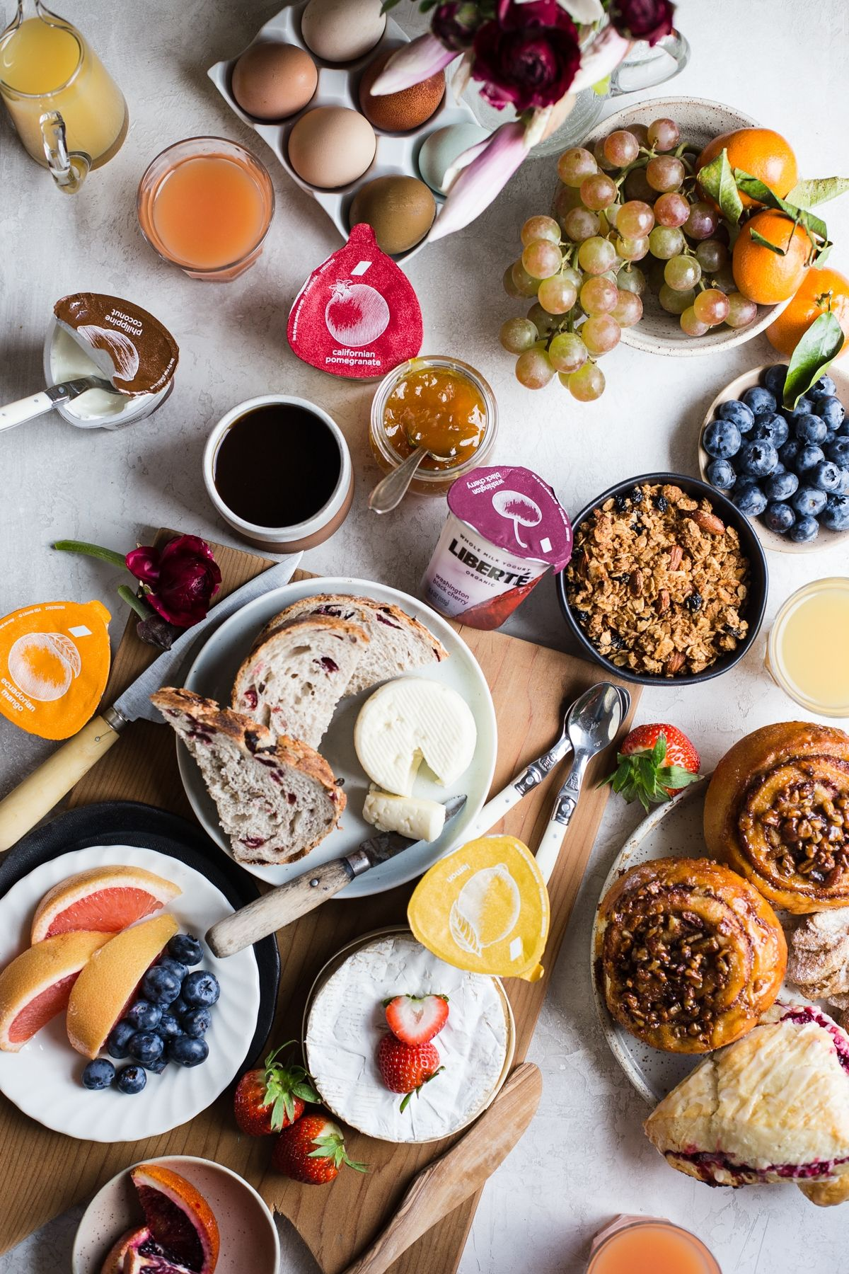 Continental Breakfast At Home The Modern Proper European Breakfast Protein Breakfast Recipes Lactose Free Recipes Dessert