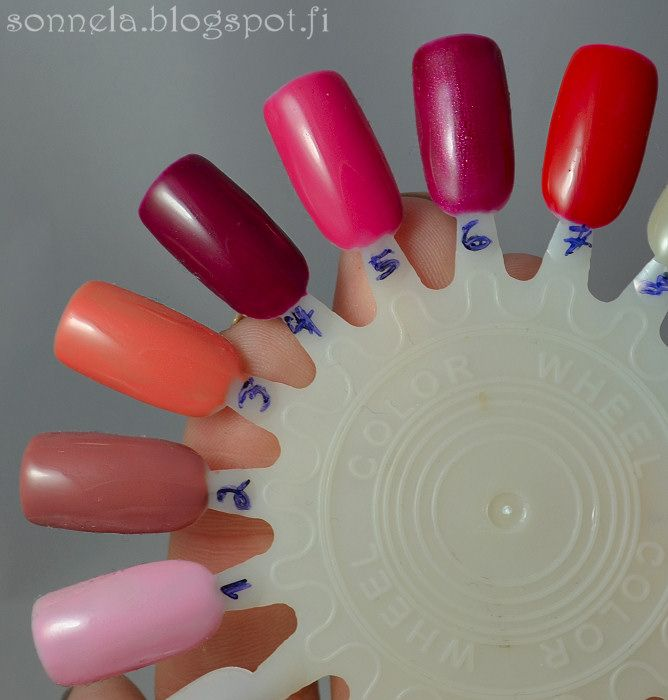 Sonnela: Sensationail -n°3: coral sunset