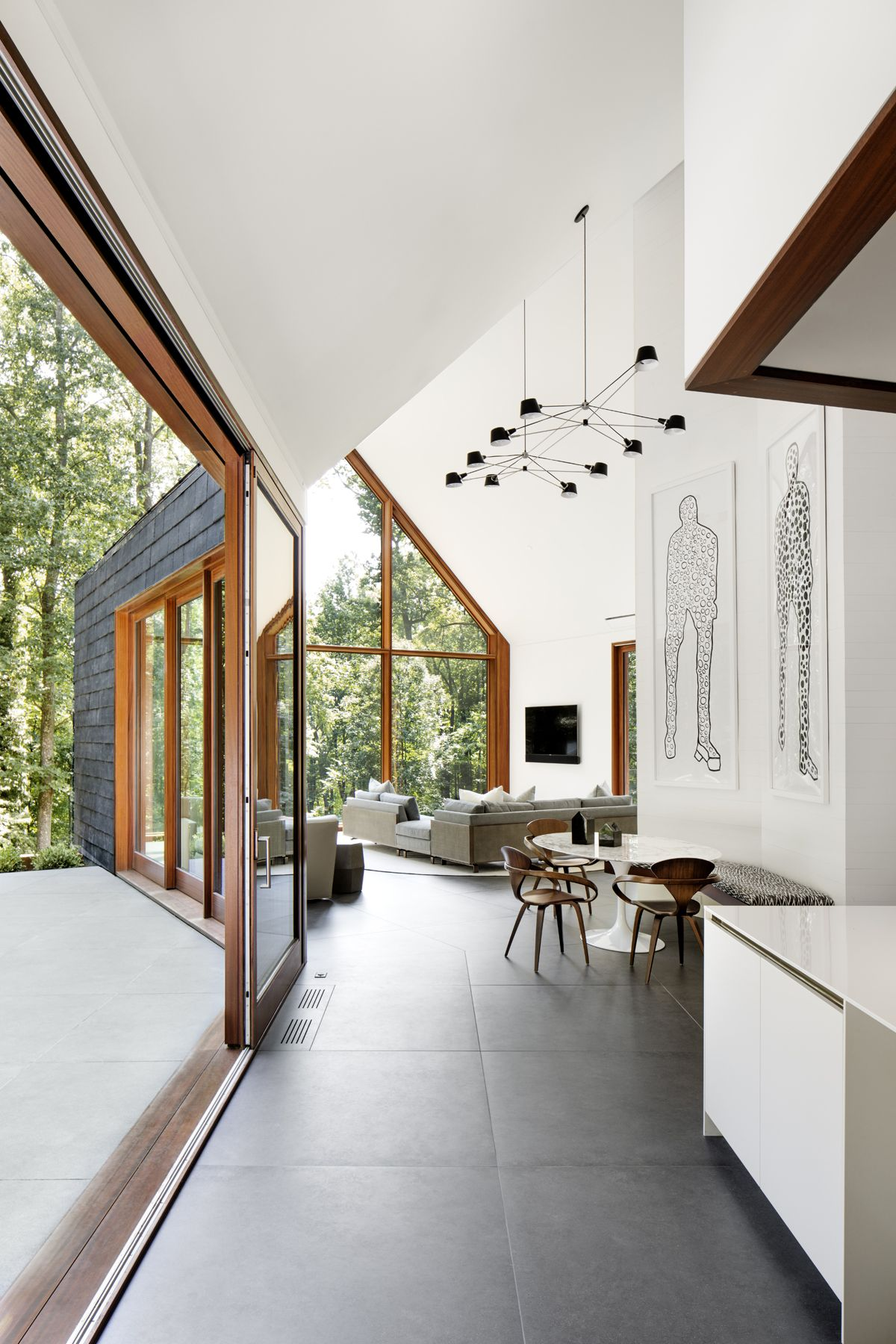 Slate House By Ziger Snead Architects In Baltimore Maryland